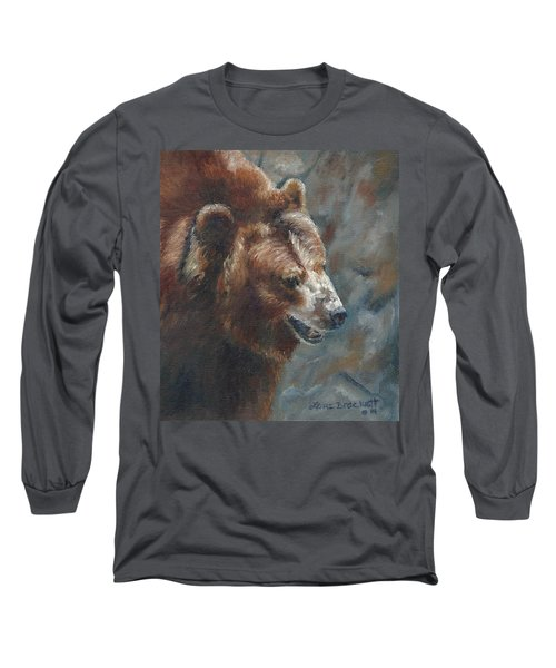Nate - The Bear Long Sleeve T-Shirt