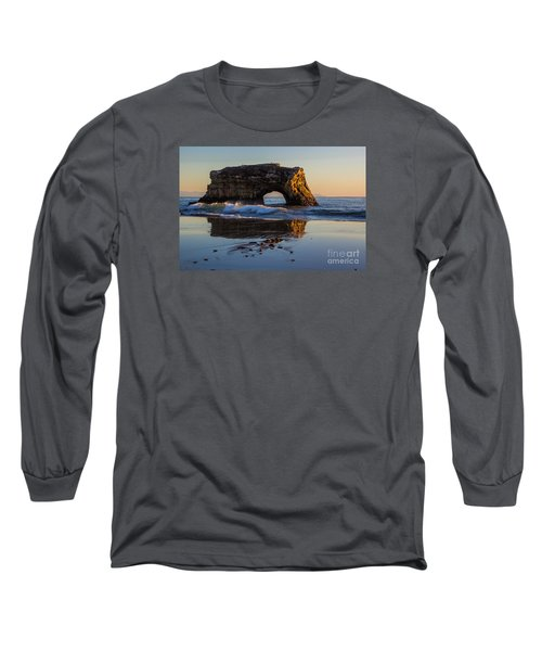 Natural Bridge Long Sleeve T-Shirt by Suzanne Luft