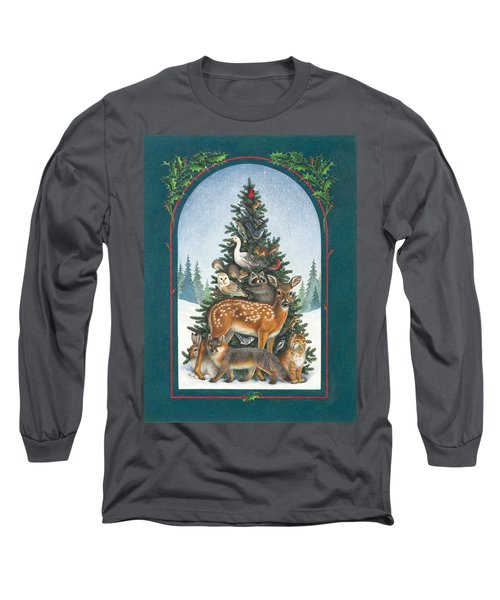 Nature's Christmas Tree Long Sleeve T-Shirt