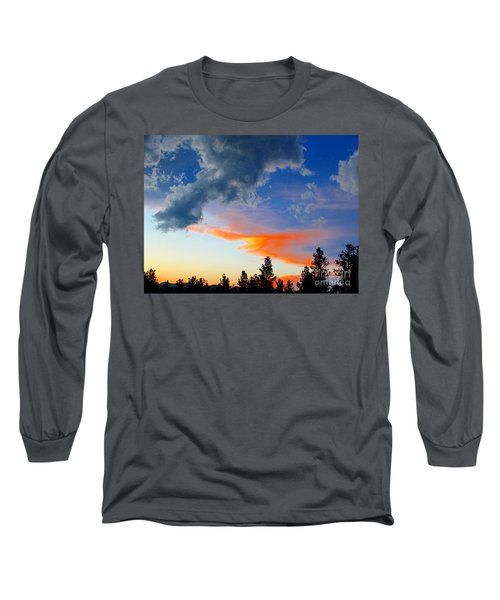 Long Sleeve T-Shirt featuring the photograph Nature's Palette by Barbara Chichester