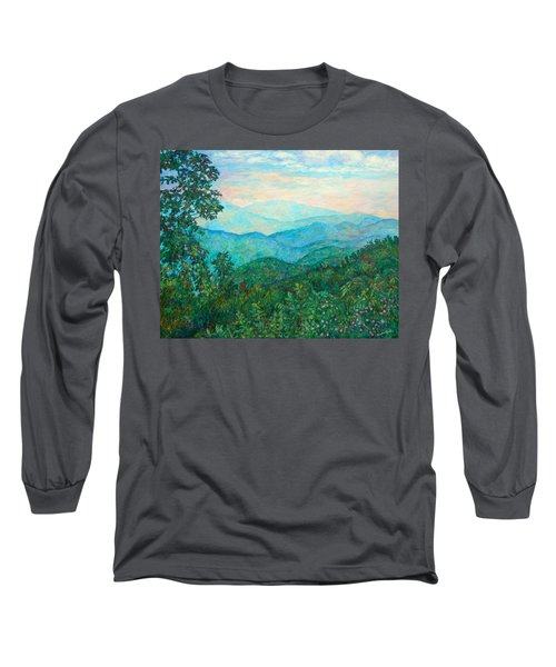 Near Purgatory Long Sleeve T-Shirt by Kendall Kessler