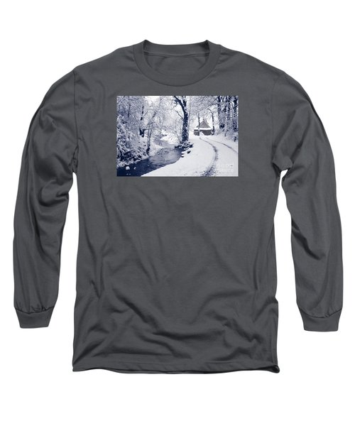 Long Sleeve T-Shirt featuring the photograph Nearly Home by Liz Leyden