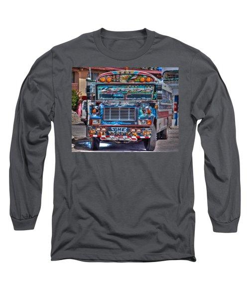 Neat Panamanian Graffiti Bus  Long Sleeve T-Shirt