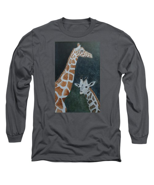Neck And Neck Long Sleeve T-Shirt