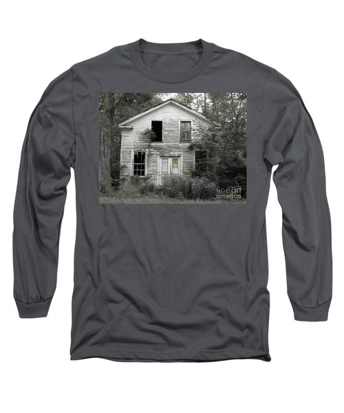 Needs A Little Work Long Sleeve T-Shirt by Michael Krek