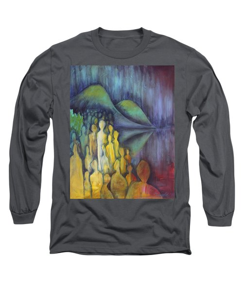 Neither Here Nor There Long Sleeve T-Shirt
