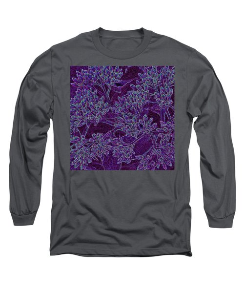 Neon Blossoms Long Sleeve T-Shirt
