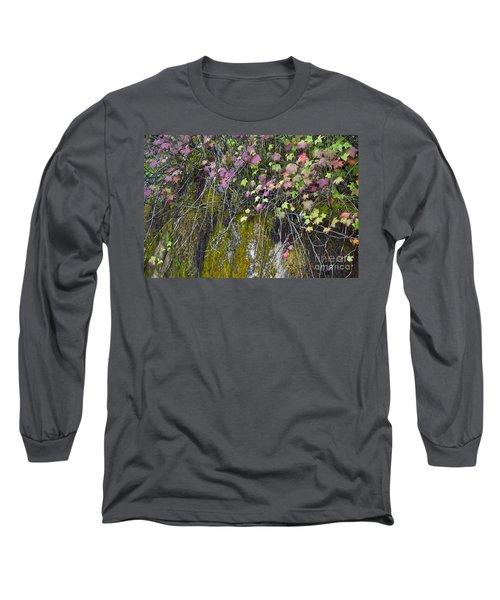 Neon Leaves No 1 Long Sleeve T-Shirt