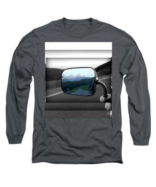 Looking Back Long Sleeve T-Shirt by Janice Westerberg