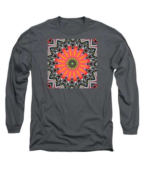Long Sleeve T-Shirt featuring the photograph Salmon Fest by I'ina Van Lawick