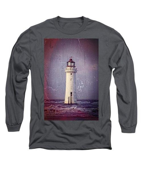 New Brighton Lighthouse Long Sleeve T-Shirt