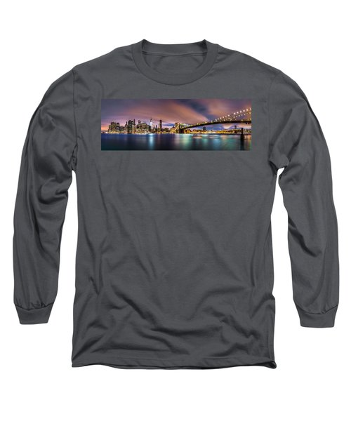 New Dawn Over New York Long Sleeve T-Shirt