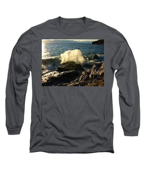 Long Sleeve T-Shirt featuring the photograph New Heights by James Peterson