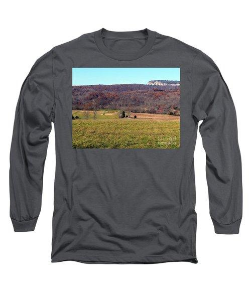 New Paltz Beauty Long Sleeve T-Shirt by Ed Weidman