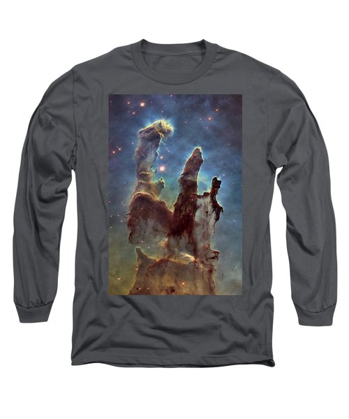 New Pillars Of Creation Hd Tall Long Sleeve T-Shirt