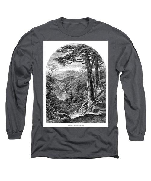 New York Adirondacks, 1872 Long Sleeve T-Shirt