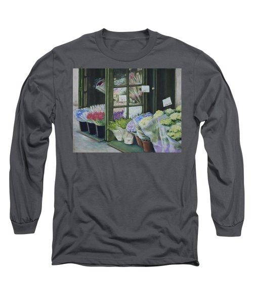 New York Flower Shop Long Sleeve T-Shirt