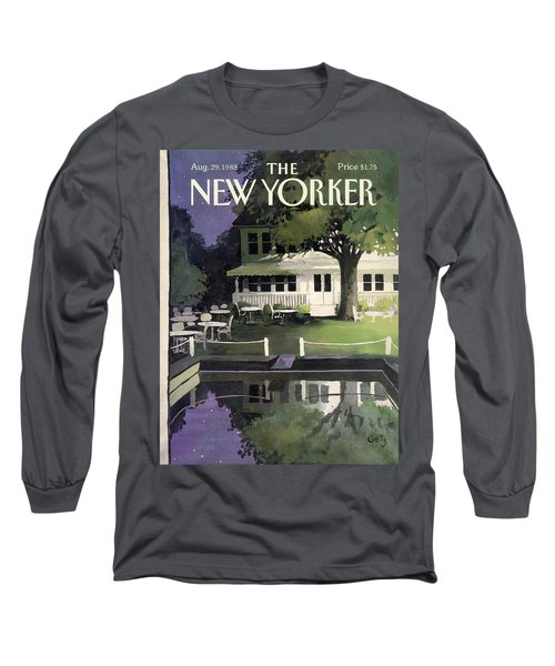 New Yorker August 29th, 1988 Long Sleeve T-Shirt