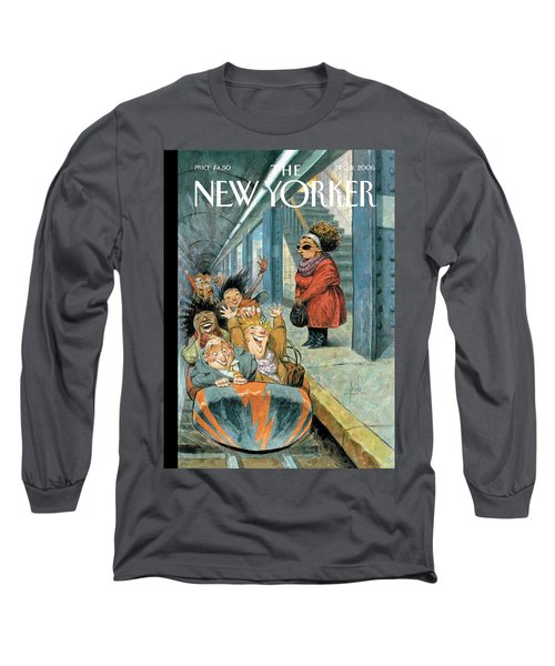 New Yorker December 11th, 2006 Long Sleeve T-Shirt