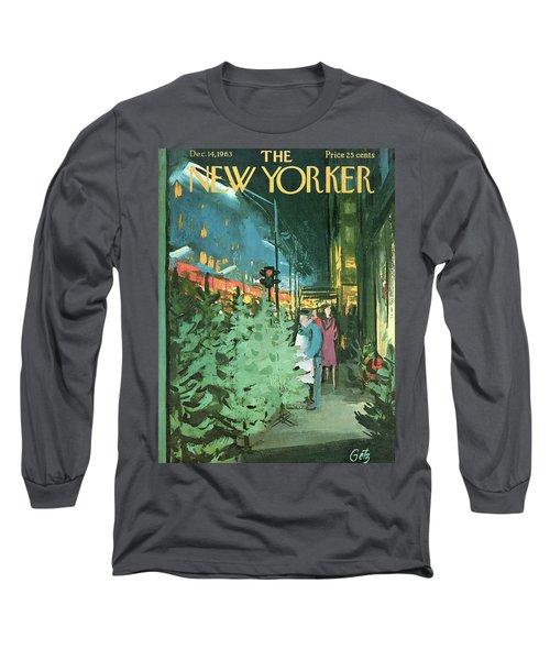 New Yorker December 14th, 1963 Long Sleeve T-Shirt