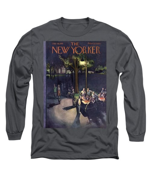 New Yorker July 18th, 1953 Long Sleeve T-Shirt
