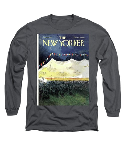 New Yorker July 25th, 1970 Long Sleeve T-Shirt