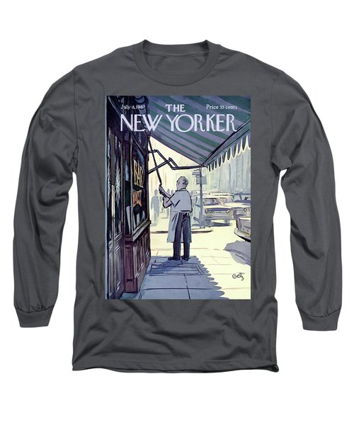 New Yorker July 8th, 1967 Long Sleeve T-Shirt