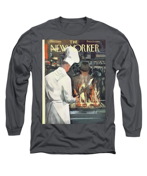 New Yorker March 7th, 1959 Long Sleeve T-Shirt