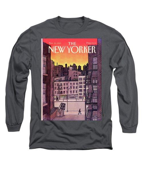 New Yorker November 25th, 1985 Long Sleeve T-Shirt