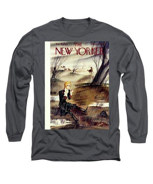 New Yorker November 28 1936 Long Sleeve T-Shirt