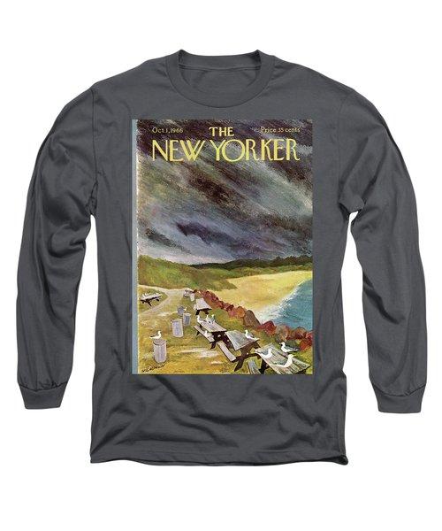 New Yorker October 1st, 1966 Long Sleeve T-Shirt