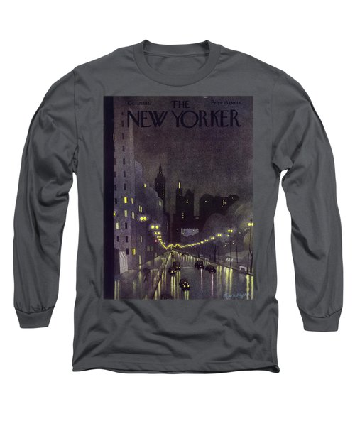 New Yorker October 29 1932 Long Sleeve T-Shirt