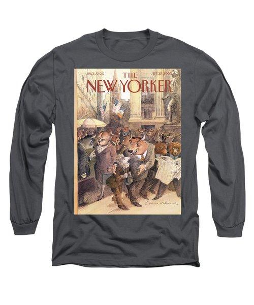 New Yorker September 25th, 2000 Long Sleeve T-Shirt
