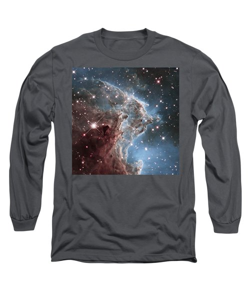 Ngc 2174-nearby Star Factory Long Sleeve T-Shirt by Barry Jones