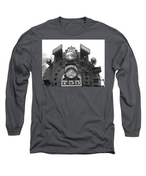 Nickel Plate Long Sleeve T-Shirt by Michael Krek