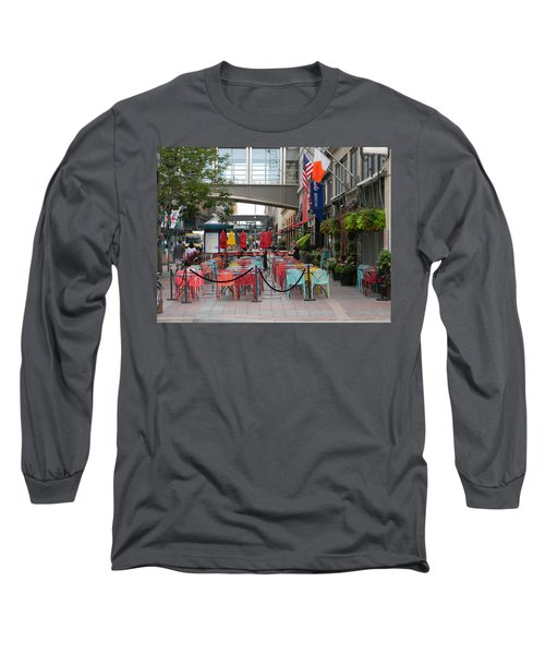 Nicollet Ave. Restaurant 1 Minneapolis Long Sleeve T-Shirt