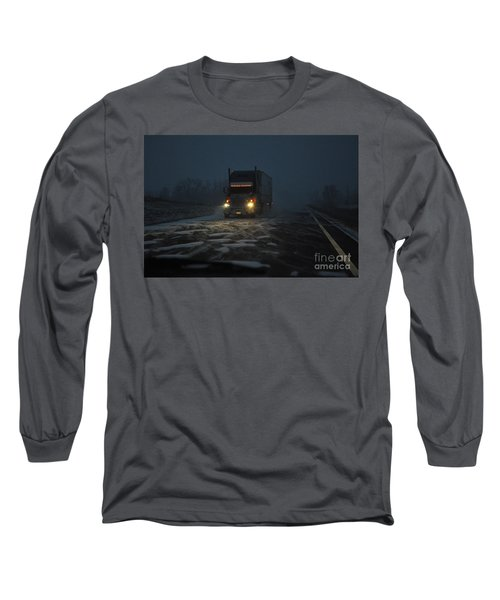 Night Driver Long Sleeve T-Shirt