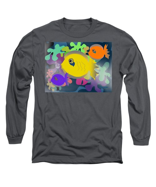 Night Swimming Long Sleeve T-Shirt