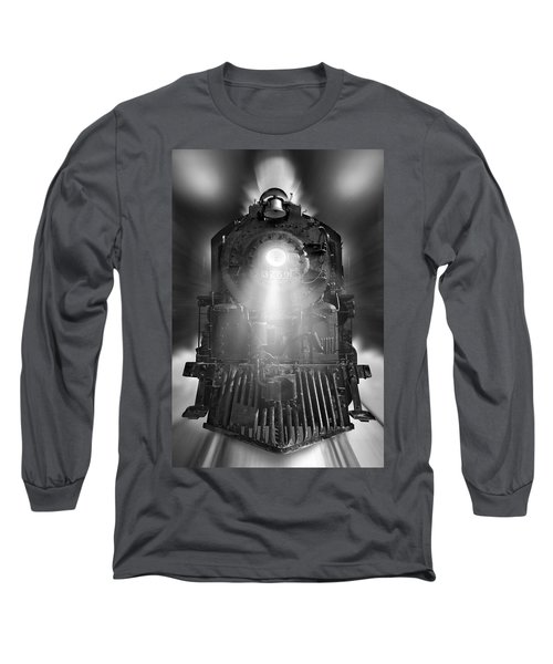 Night Train On The Move Long Sleeve T-Shirt