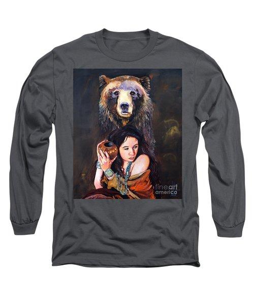 Nine Stars Woman - Bear Medicine Long Sleeve T-Shirt