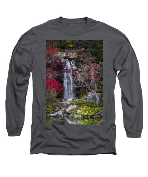 Long Sleeve T-Shirt featuring the photograph Nishi No Taki by Sebastian Musial