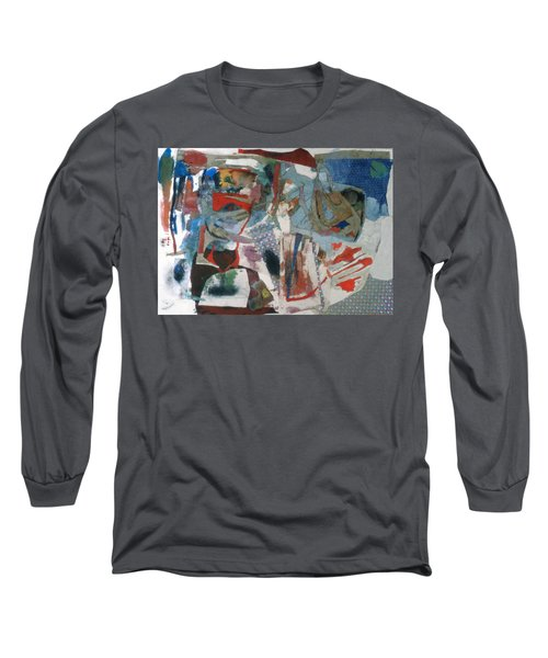 No 3 In A Series Of Assemblages Long Sleeve T-Shirt