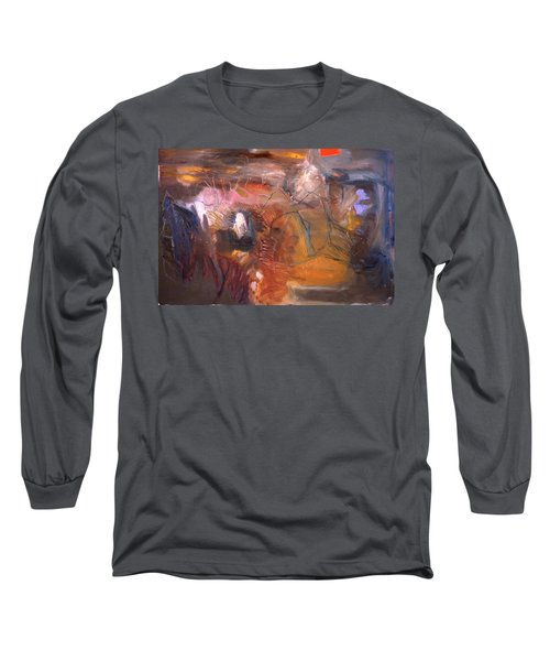 No 3 In A Series Of Human Landscapes Long Sleeve T-Shirt