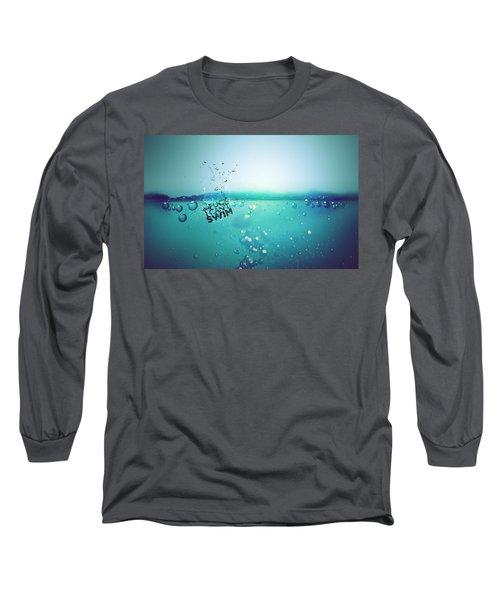 No Fun Water Long Sleeve T-Shirt