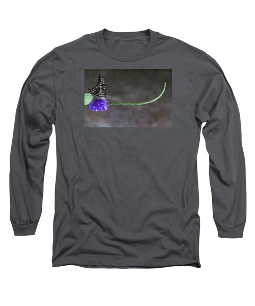 Butterfly - Tailed Jay II Long Sleeve T-Shirt