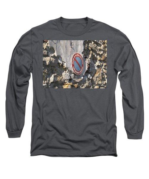 No Parking Long Sleeve T-Shirt