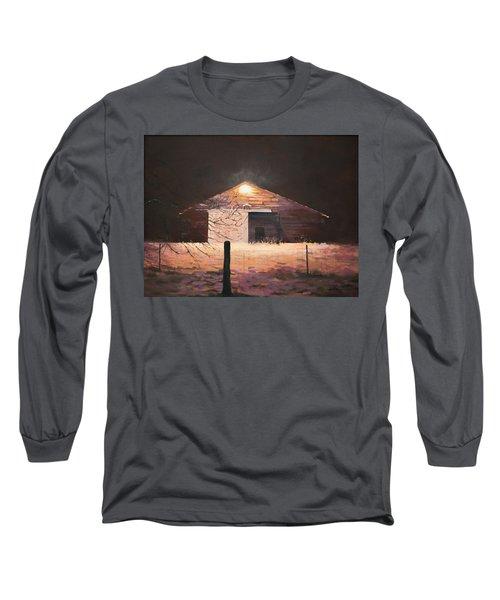 Nocturnal Barn Long Sleeve T-Shirt
