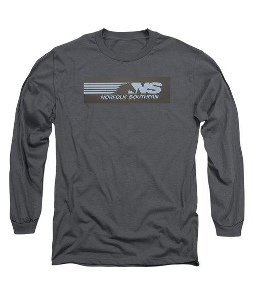 Norfolk Southern Railway Art Long Sleeve T-Shirt
