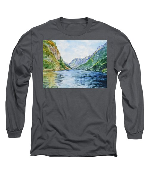 Norway Fjord Long Sleeve T-Shirt