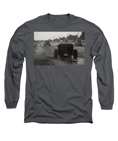 Nostalgia Drags Long Sleeve T-Shirt by Dennis Hedberg
